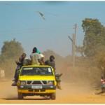 5月から8月に行ったアフリカ諸国のフィールド調査